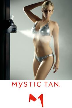 Bräunungsdusche Mystic Tan Anwendung